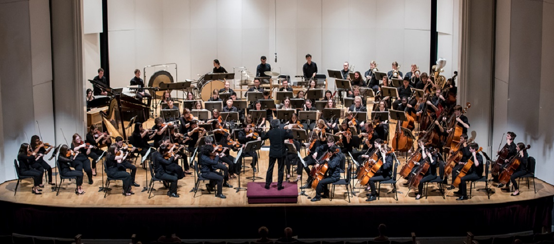 EMF Young Artist Orchestra with conductor Jose Luis Novo in 2018