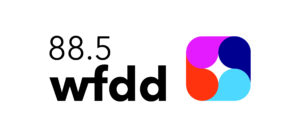 4 color logo for WFDD radio station