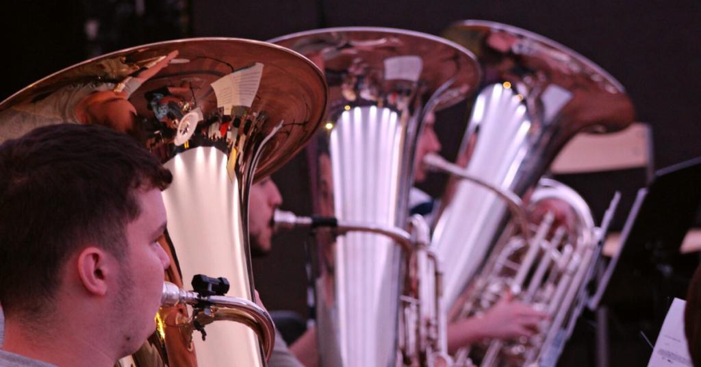 cthree tuba brass instruments in class